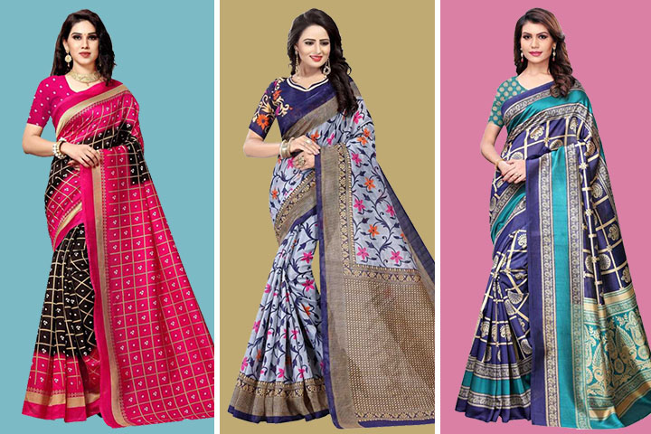 25 Most Beautiful Collection Of Bhagalpuri Sarees with Price