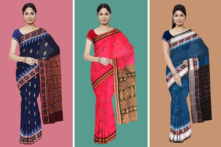 30 Largest Collection of Bomkai Cotton Sarees – Pick Your Favourite Saree