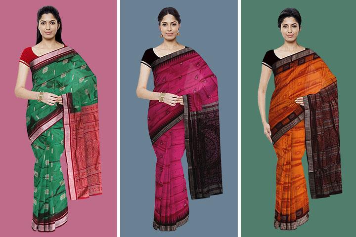 25 Beautiful Collection of Bomkai Silk Sarees with Images