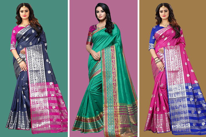 25 Traditional Dharmavaram Silk Sarees With Images