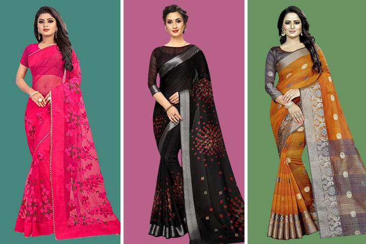 35 Latest Collection of Fashion Sarees – Give Yourself a Royal Elegant Look
