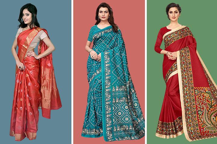 25 Very Popular Kosa Silk Sarees With Images