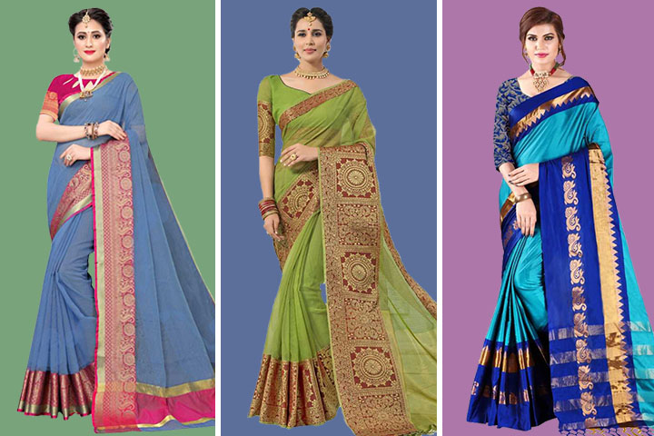 35 Latest Collection of Kota Doria Sarees for Women