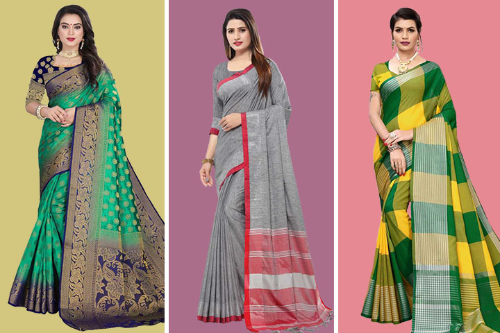 Handloom Sarees – 35 Huge Collection and Large Variety of Colours and Designs