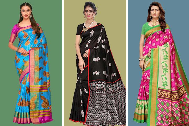 Kalamkari Sarees – 35 Most Beautiful Collection of Kalamkari Sarees