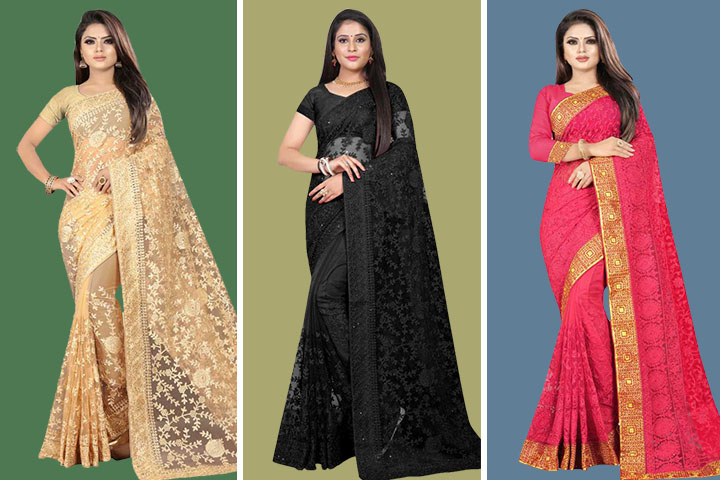 35 Exquisite Collection of Lucknowi Chikankari Sarees