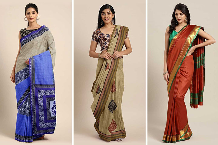 35 New Collection of Mangalagiri Sarees in 2020 with Pictures