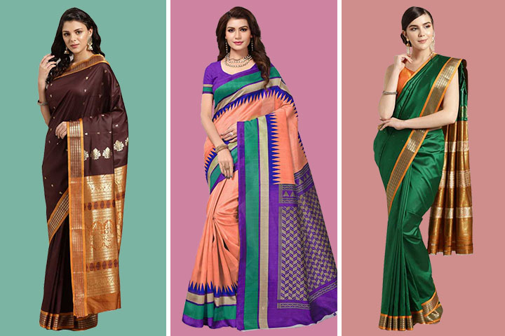25 Latest and Exclusive Mangalgiri Silk Sarees for Any Occasion