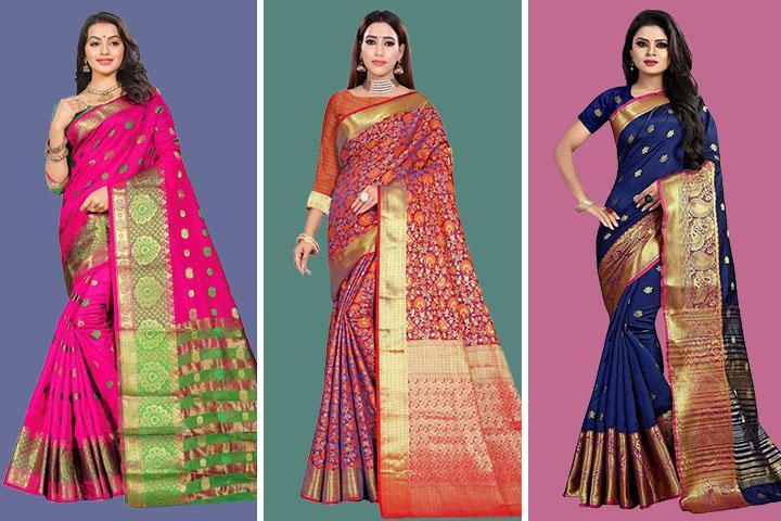35 Latest Paithani Silk Sarees Collection with Price