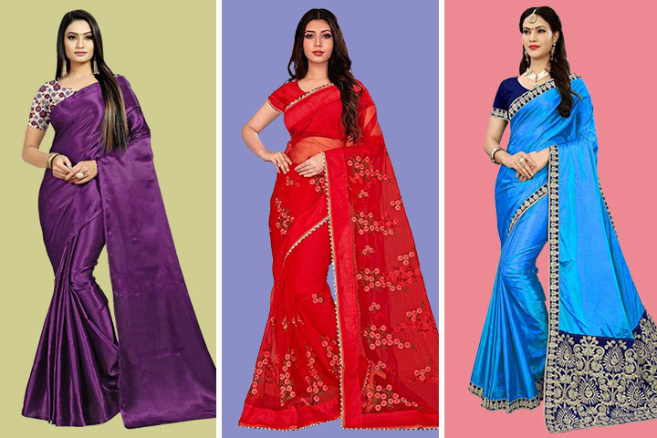 29 Latest Collection of Phulkari Sarees With Images