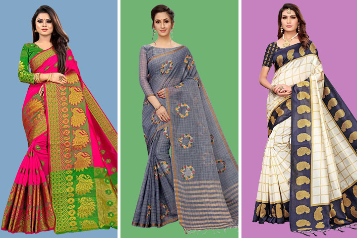 24 Gorgeous Shalu Sarees for Wedding at Best Prices