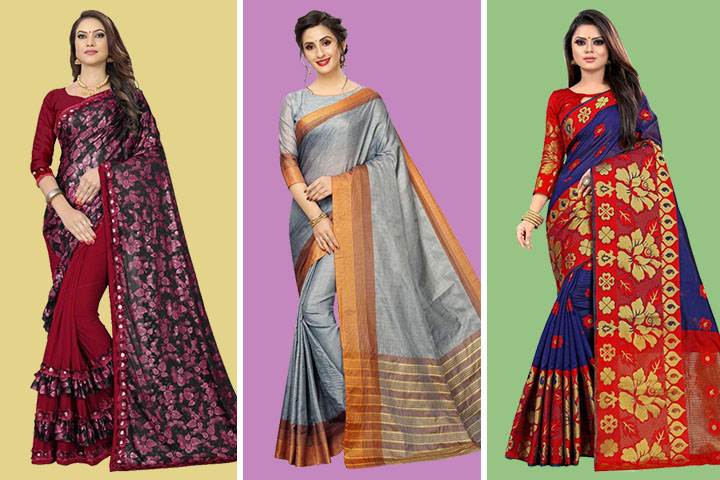 Top 30 Trendy Collection of Shalu Sarees at Best Price