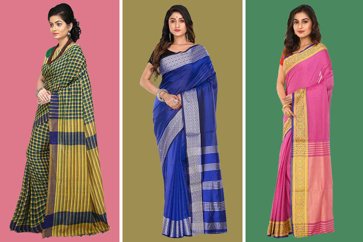 35 Beautiful and Elegant Collection of Shantipur Sarees