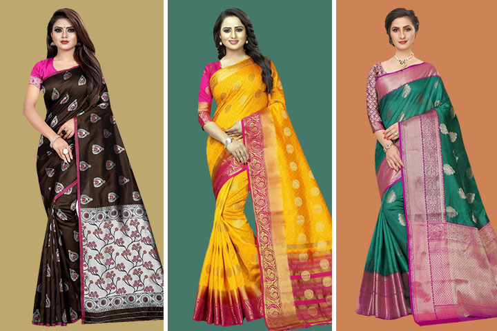 30 Beautiful Collection of Tanchoi Sarees with Images