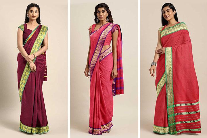 35 Latest Designs of Venkatagiri Sarees Catalogue 2020 With Images
