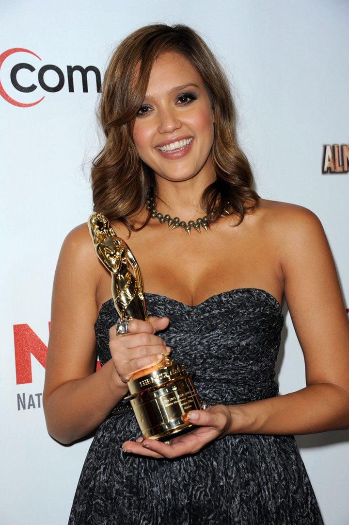 jessica alba awards and nominations