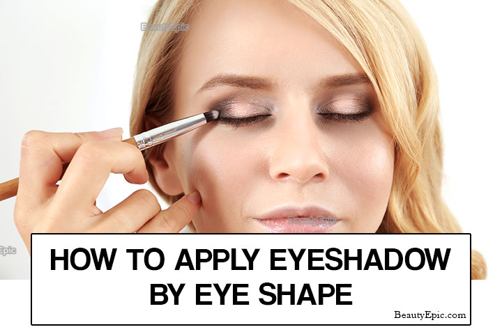 How to Apply Eye Shadow by Eye Shape?