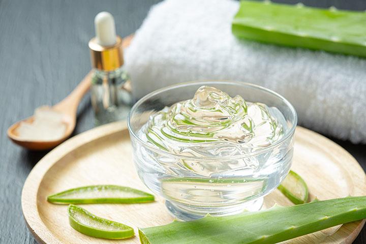 aloe vera gel for open pores