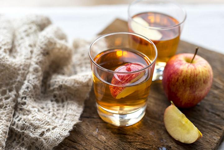 apple cider vinegar for open pores