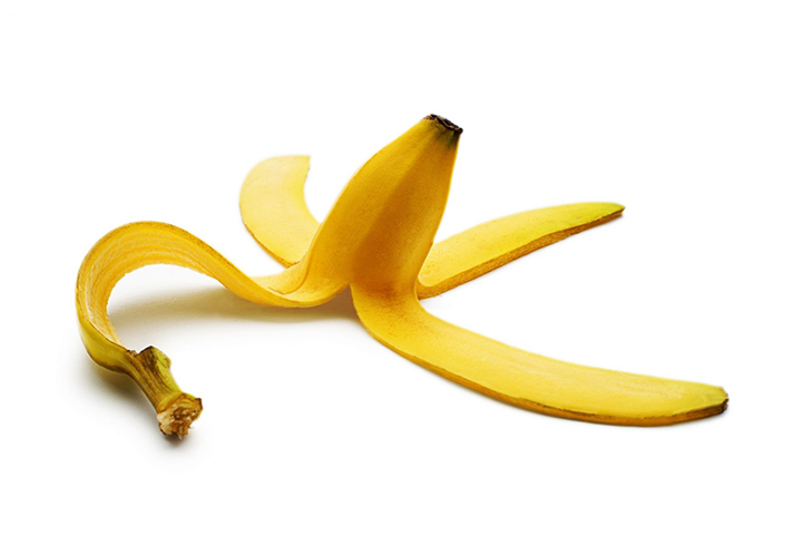 banana peel for warts