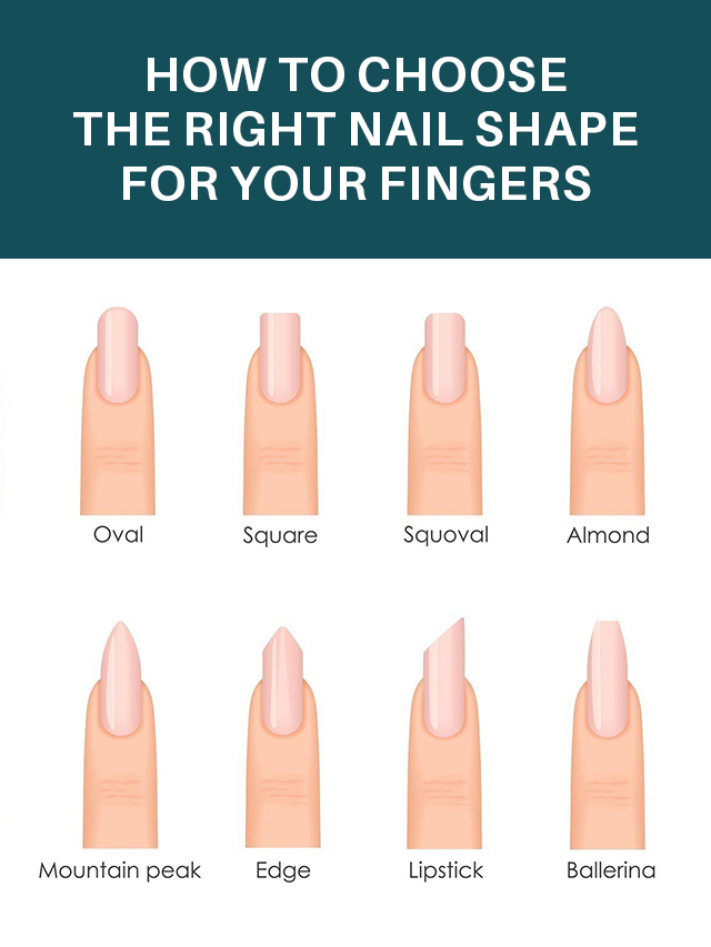 How to Choose The Right Nail Shape for Your Fingers?
