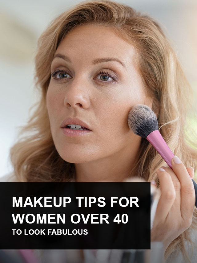 The Best Makeup Tips for Women Over 40