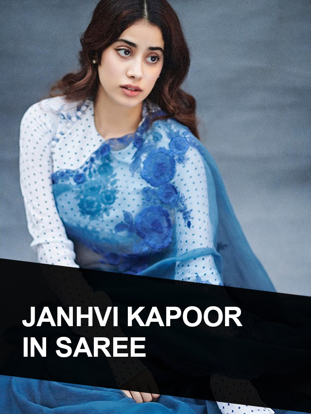 Janhvi Kapoor In Saree – Who love to Wear Saree